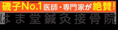 「はま堂鍼灸接骨院」磯子区で口コミ評価NO.1 ロゴ